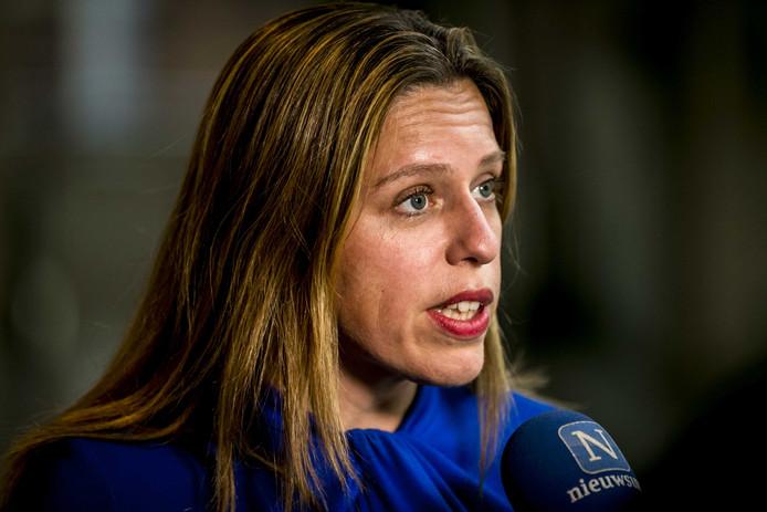 Carola Schouten, minister van Landbouw, Natuur en Voedselkwaliteit.