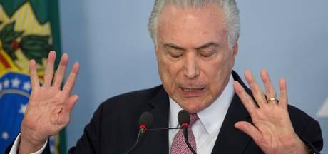 Braziliaanse president noemt aanklacht wegens corruptie 'fictie'
