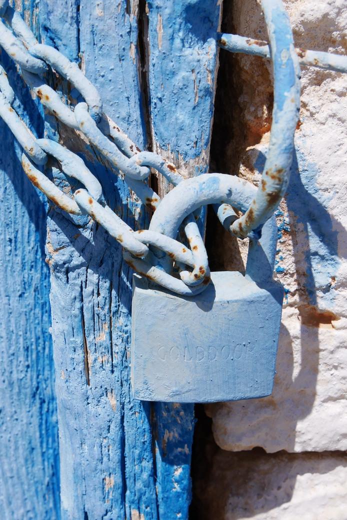 Mooi blauw is niet lelijk. Althans, dat vinden ze in Griekenland.