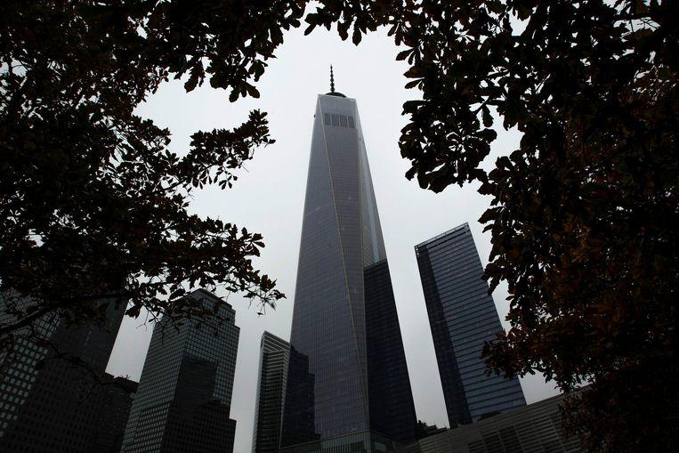 De One World Trade Center in New York, ook wel bekend als de Freedom Tower. Beeld REUTERS