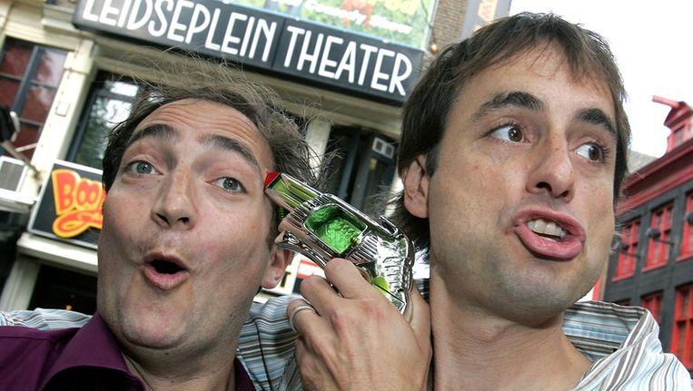 Jon 'Pep' Rosenfeld (links) de oprichter van Boom Chicago. ANP. Beeld