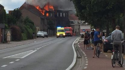 Zware brand verwoest woning in Eeklo