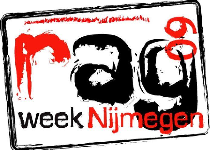 Het logo van de Ragweek Nijmegen.
