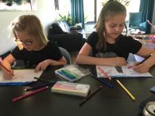 Kinderen bezorgen Scharendijke een nieuwe vlag