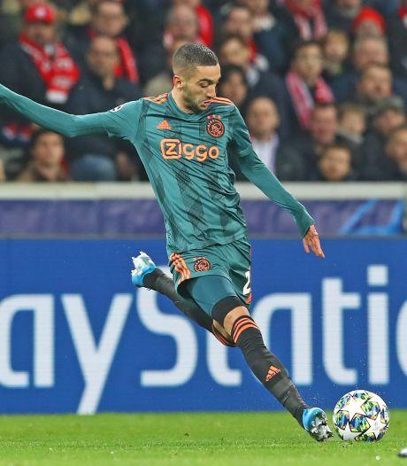 Ajax mist mogelijk Ziyech tegen Twente