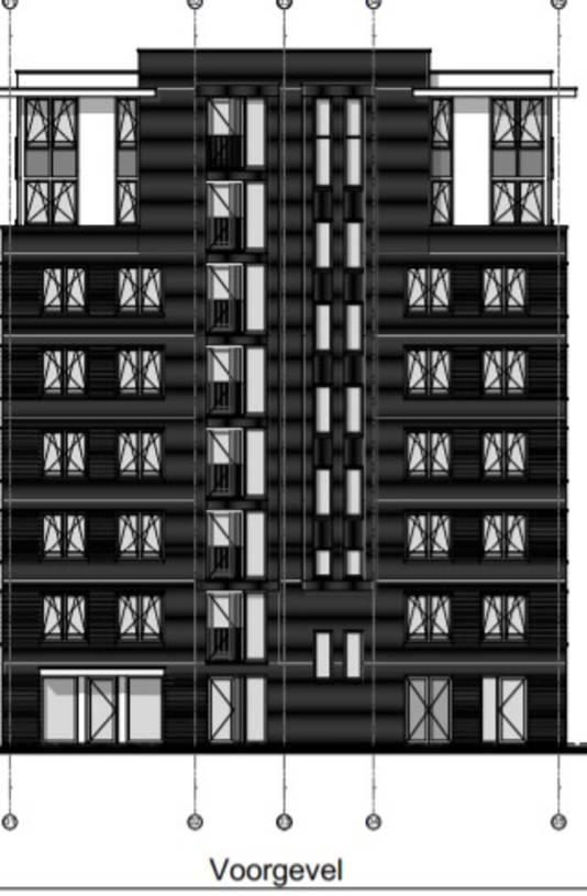 Het ontwerp van de nieuwe woontoren in Opheusden