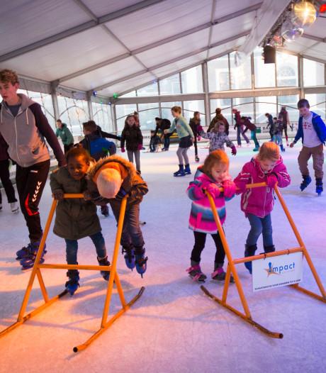 Kinderburgemeester opent ijsbaan Elst