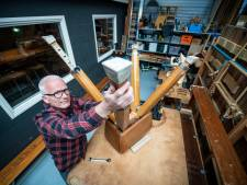 Gert turnt gymzaalafval om tot hip meubilair voor in huis of kantoor