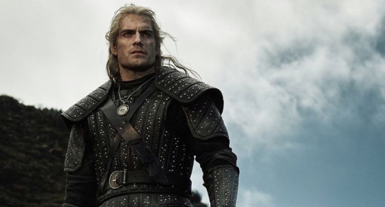 Henry Cavill als 'The Witcher'.