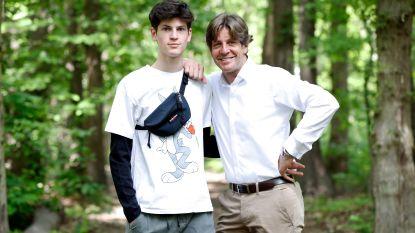 """Günther Neefs' jongste zoon Len treedt in de voetsporen van vader en grootvader: """"Maar een duet is nog niet voor direct"""""""