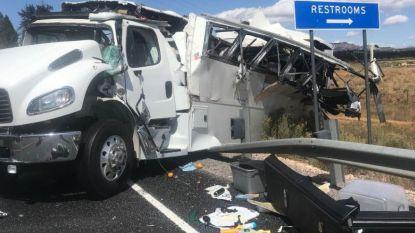 Zeker 4 doden en 30 gewonden na busongeluk bij Bryce Canyon