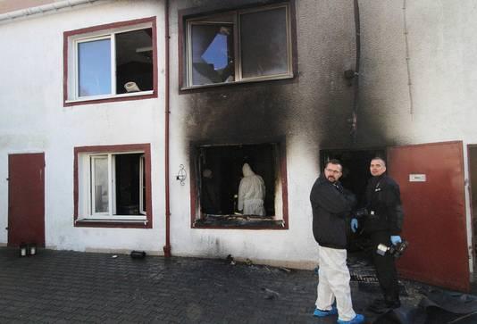 Bij de brand in de Poolse escape room vielen vijf doden.