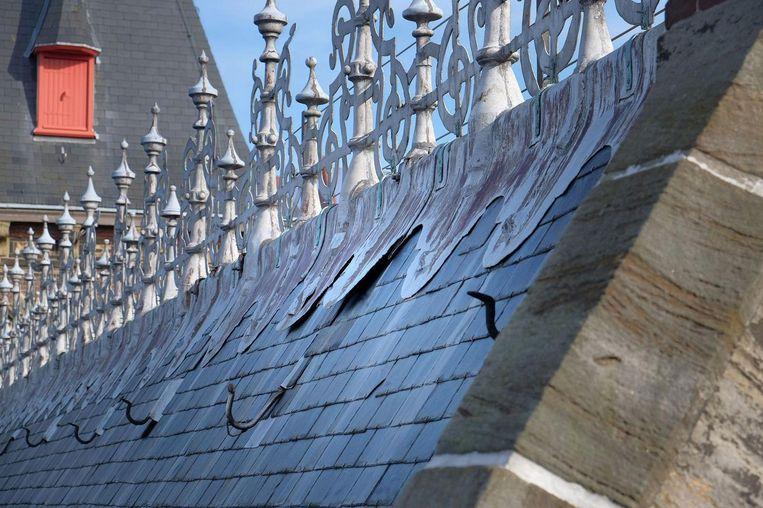 Het Binnenhof is aan renovatie toe. Beeld ANP/Rijksvastgoedbedrijf Corne Bastiaansen