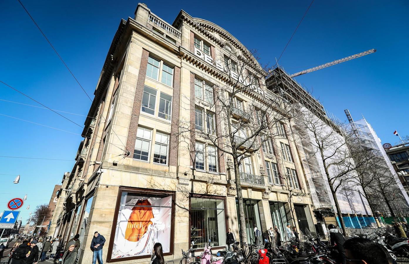 De Bijenkorf in Amsterdam.