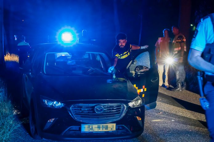 Gewonde bij ongeval Knegselseweg Veldhoven.
