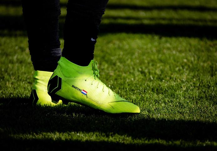 De voetbalschoenen van Lieke Martens.