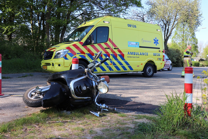 Ongeval in Zaltbommel.