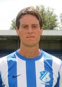 Sjors Paridaans als speler van FC Eindhoven.
