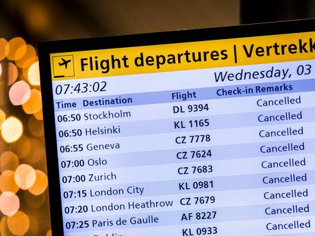 Code oranje in Zeeland door westerstorm; NS laat minder treinen rijden