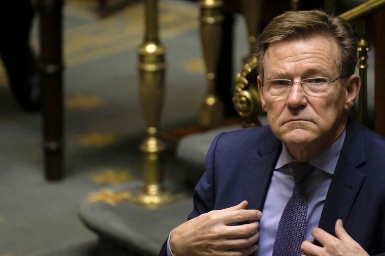 Minister van Financiën, Johan Van Overtveldt.