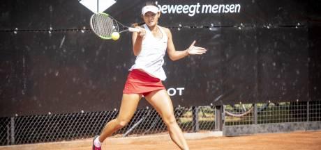 Meppelse tennisster Hartono strandt in halve finale