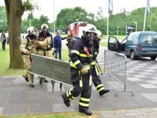 Grote rampenoefening in Rijen, hulpdiensten simuleren helikoptercrash