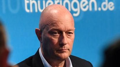 Minister-president Duitse deelstaat Thüringen die met hulp extreemrechts verkozen werd, bereid op te stappen