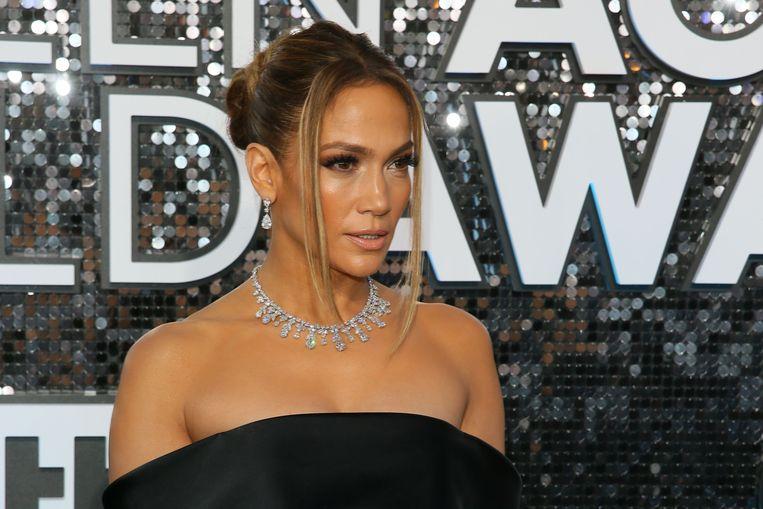 Jennifer Lopez op de SAG Awards.