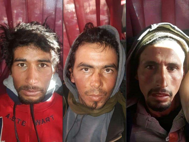 Drie mannen in Marokko zijn ook in hoger beroep ter dood veroordeeld voor de moord eind vorig jaar op twee Scandinavische toeristen. Beeld AFP