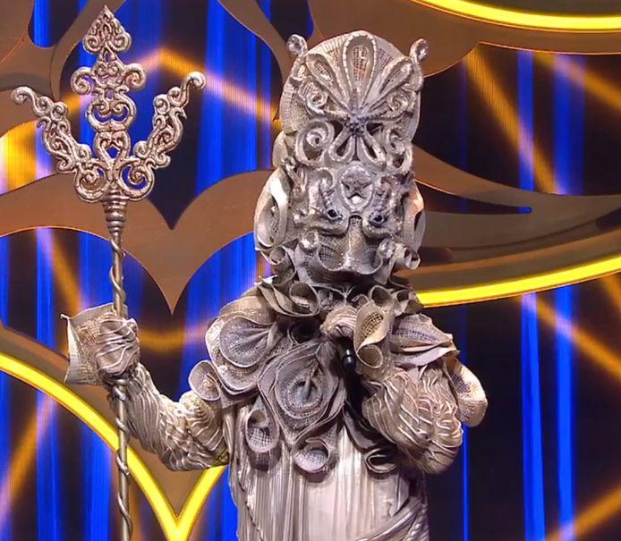 Neptunus in The Masked Singer.