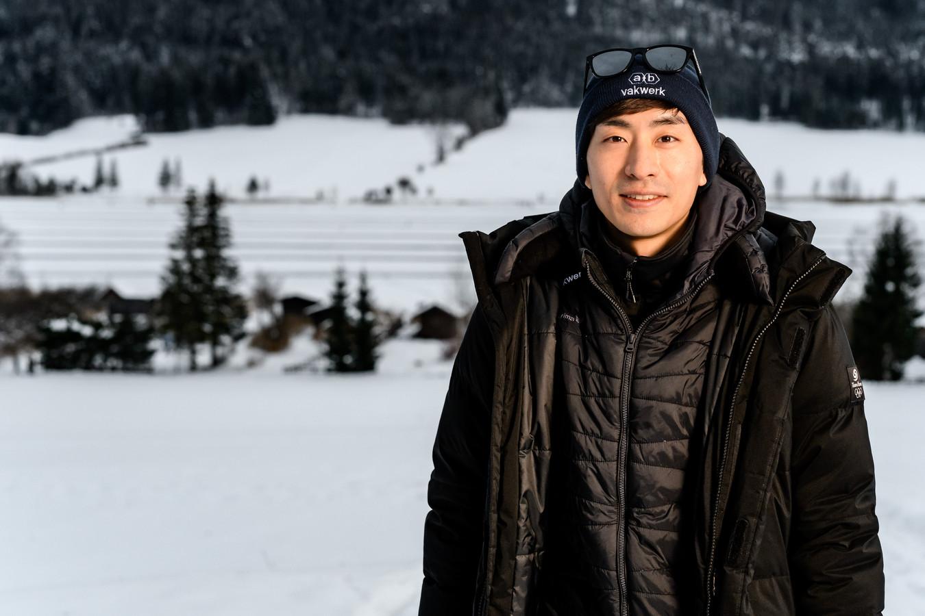 Seung Hoon Lee, hier op de Weissensee, is niet meer van de partij.
