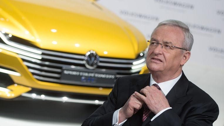 Martin Winterkorn (71) leidde Volkswagen tussen 2007 en 2015.