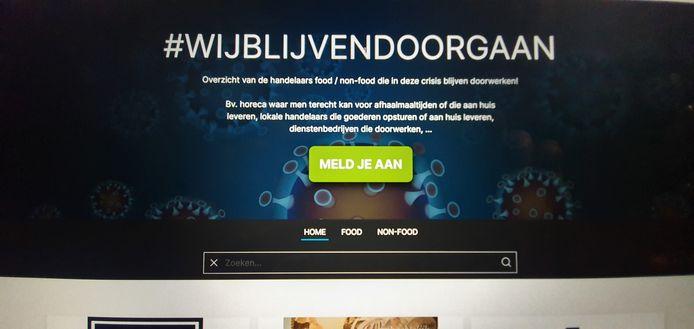 Guy Deschepper en Krista Deckers lanceerden www.wijbliijvendoorgaan.be.
