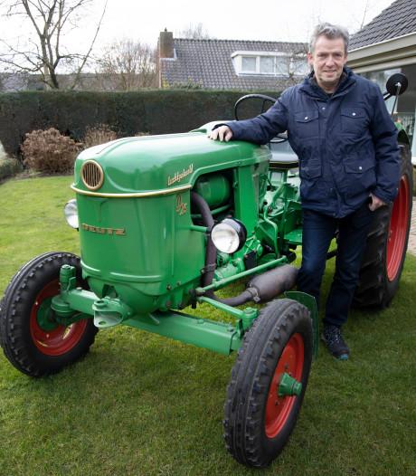 Jan (64) uit Malden: 'Bijzonder dat ik mijn vaders tractor weer heb'