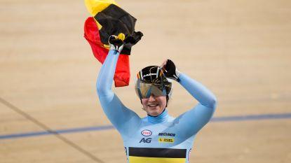 Goud voor België op het WK baanwielrennen! Degrendele kroont zich tot wereldkampioene op de keirin