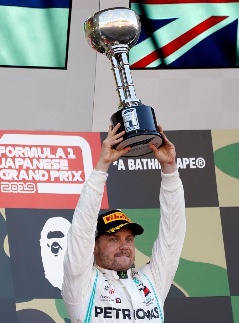 Winnaar Valtteri Bottas. Beeld EPA