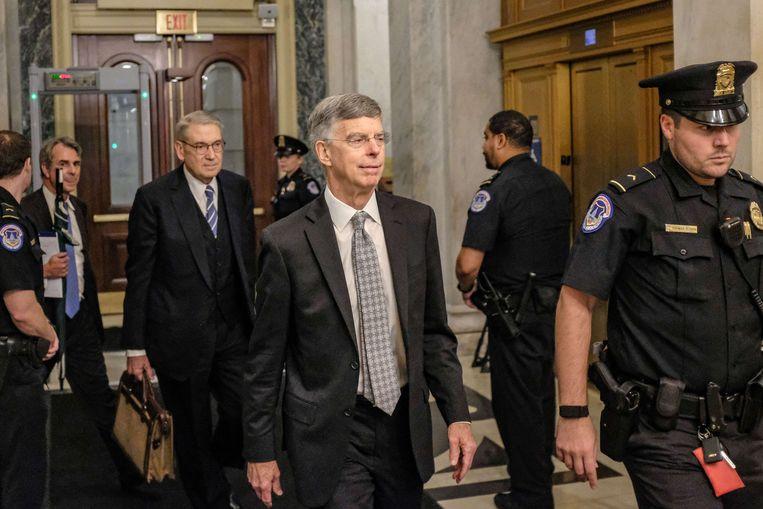 Huidig ambassadeur voor Oekraïne William Taylor legde een mogelijk zeer belastende verklaring af over de affaire.