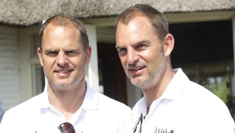 Frank (links) en Ronald de Boer. Beeld anp
