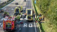 Vier gewonden bij ongeval op E40