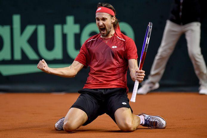 Ruben Bemelmans pourrait rejoindre David Goffin dans le tableau final de Roland-Garros.