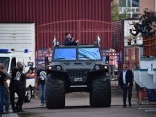 Warm ontvangst voor voorzitter Maradona bij Dinamo Brest