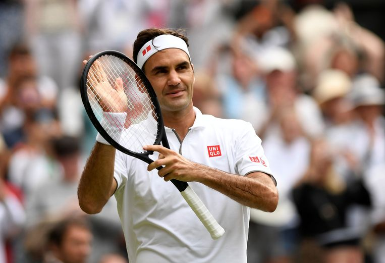 Roger Federer  Beeld REUTERS