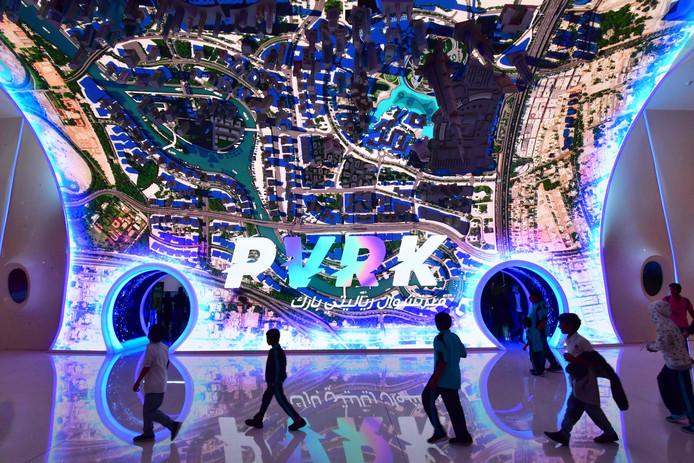 VR Park is gevestigd in Dubai Mall, 's werelds grootste winkelcentrum