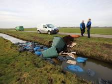Drugsafval gedumpt in vogelreservaat in Eempolder