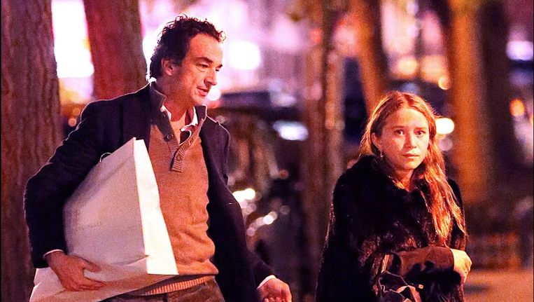 Mary-Kate en Olivier Sarkozy.