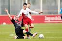 De rentree van NEC'er Rens van Eijden in een besloten oefenduel tegen FC Utrecht.
