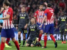 Giménez en Godín bezorgen Atlético verdiende winst op Juventus