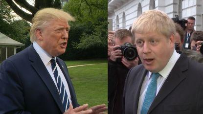 Boris versus Donald: de nieuwe Britse premier lijkt wel erg op Trump