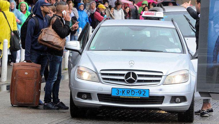 Vijfduizend chauffeurs, en de lopende band blijft maar nieuwe afleveren Beeld anp