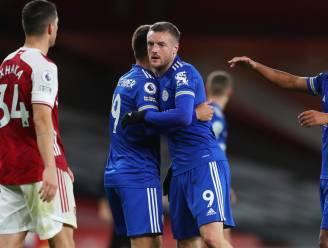 Vardy bezorgt Leicester City zege bij Arsenal na zoutloze pot voetbal